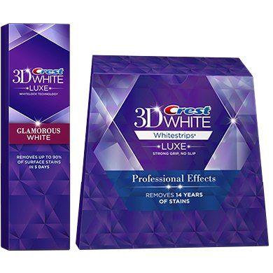 полоски для отбеливания зубов 3d white crest