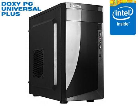 Computer DOXY PC UNIVERSAL PLUS - CPU Intel Core i3-7100 3.9GHz Dual Core, 3MB/ 8GB DDR4 /120GB SSD/ 320GB HDD/ video on board/ Case ATX 500W