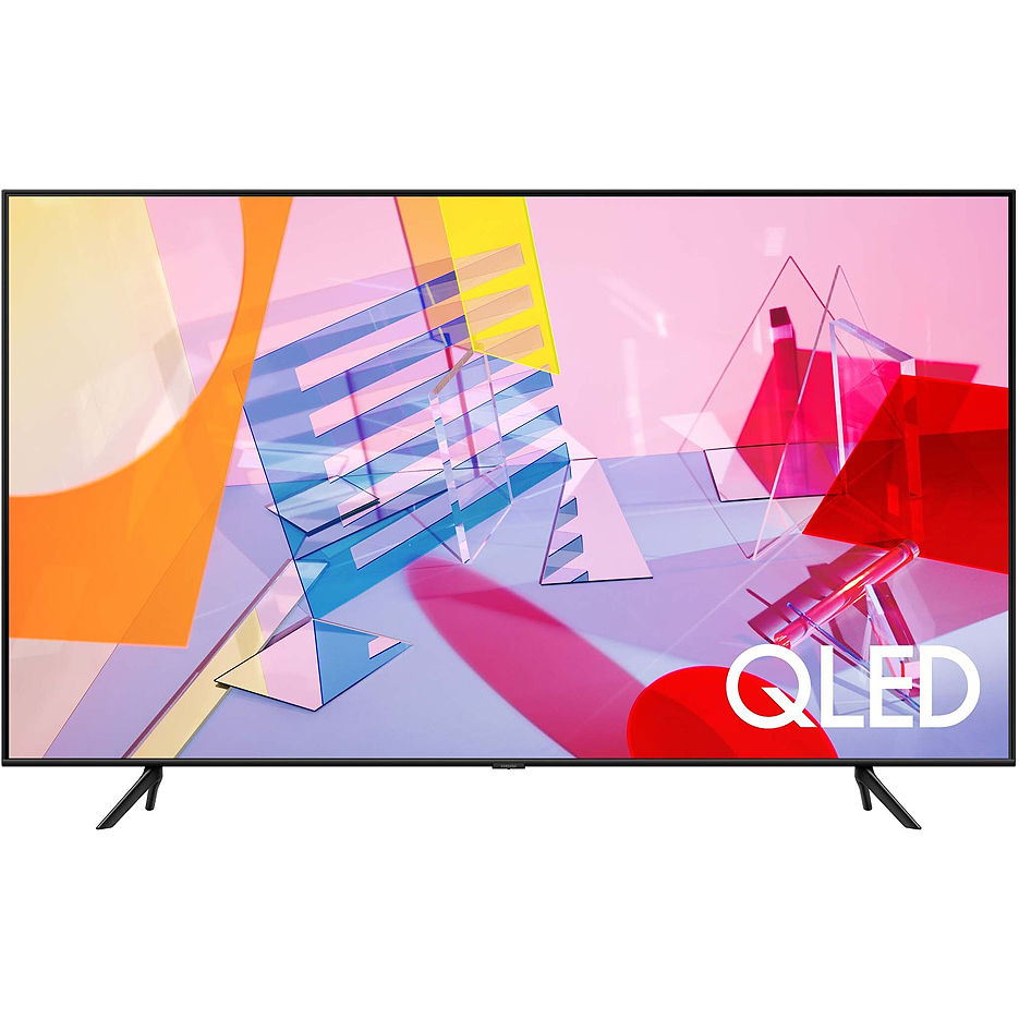 "Телевизор 55"" QLED TV Samsung QE55Q60TAUXUA, Black (3840x2160 UHD, SMART TV, PQI 3100Hz, DVB-T/T2/C/S2)"