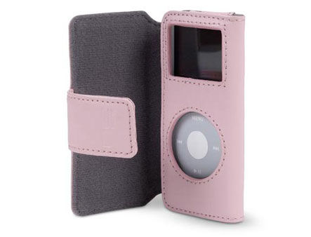 F8Z058-PNK Belkin Folio Case for iPod Nano Pink (husa/чехол)