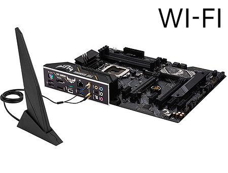 Placa de baza ASUS TUF GAMING H470-PRO (WI-FI) Intel H470, LGA1200, Dual DDR4 2933MHz, 2xPCI-E 3.0/2.0 x16, DP 1.4/HDMI 1.4b, AMD 2-Way CrossFireX, Intel Wi-Fi 6 802.11ax, USB3.2 Type-C, SATA RAID 6Gb/s, 2 x M.2 x4 Socket, Intel Optane, SB 8-Ch., GigabitLAN, AURA Sync