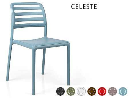 Scaun de gradina / de exterior Nardi COSTA BISTROT (7 culori)