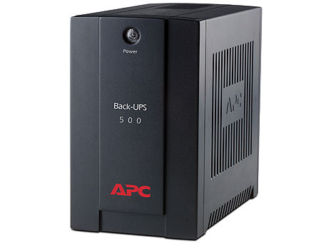 UPS APC Back-UPS BX500CI, AVR, 500VA/300Watts, 230V, 50 Hz, Line Interactive, IEC plugs