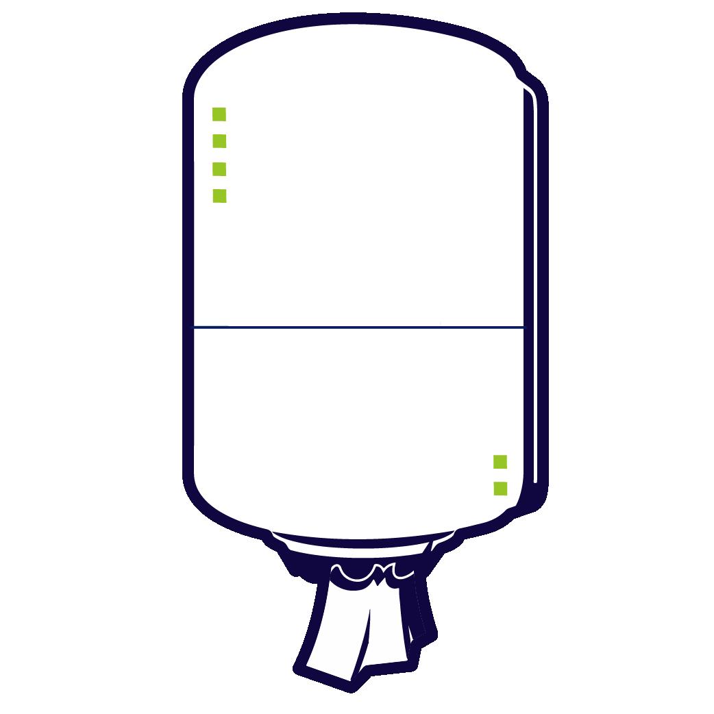 Dispensere rolă prosop hârtie