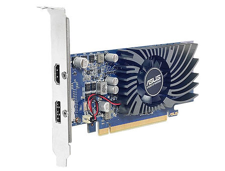ASUS GT1030-2G-BRK, GeForce GT1030 2GB GDDR5, 64-bit, GPU/Mem clock 1506/6008MHz, PCI-Express 3.0, Dislpay Port/HDMI (placa video/видеокарта)