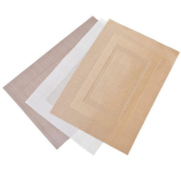 Салфетки сервировочные, коврики антискользящие