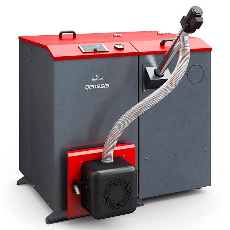 Твердотопливный котёл Galmet Genesis Plus KPP R 10 кВт