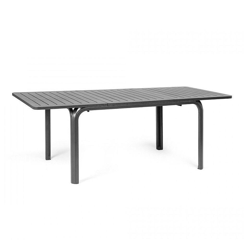 Стол раздвижной Nardi ALLORO 140 EXTENSIBLE ANTRACITE vern. ANTRACITE 42752.02.000 (Стол раздвижной для сада и террасы)