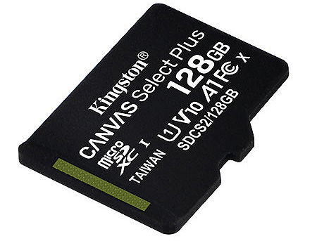 128GB Kingston Canvas Select Plus SDCS2/128GBSP microSDHC, 100MB/s, (Class 10 UHS-I) (card de memorie/карта памяти)