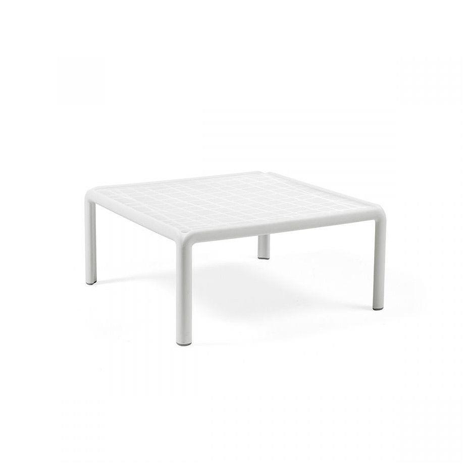 Столик кофейный Nardi KOMODO TAVOLINO BIANCO 40378.00.000 (Столик кофейный для сада и террасы)