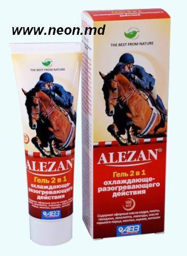 Alezan алезан крем-гель для суставов 2 в одном боль в голеностопном суставе при варикозе