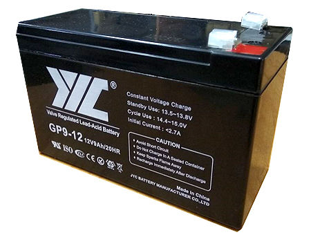 Baterie UPS 12V / 9.0Ah JYC GP9-12, AGM Lead-Acid Battery ( 151 x 65 x 94 mm )