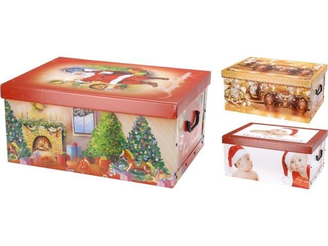 Cutie Pentru Cadou De Craciun 51x37x24cm Cumpăr In Moldova