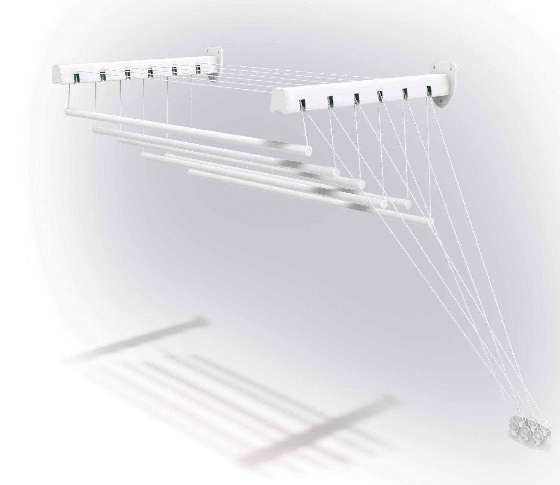 Сушилка для белья telepack 100, раздвижная dekotex товары дл.