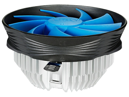 "Кулер для процессора DEEPCOOL Cooler ""GAMMA ARCHER"", Socket 1155/1150/775 & FM2+/FM2/FM1/AM3+/AM3, up to 95W, 120x120x25mm, 1600rpm, <21dBA, 55.5CFM, 3 pin, Hydro Bearing, D.A.C. (Double Airflow Channel)"
