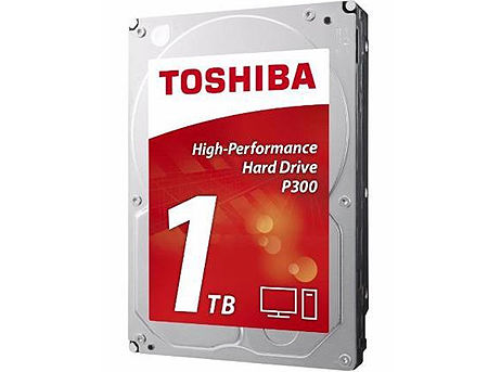 "3.5"" HDD 1TB Toshiba P300 High-Performance HDWD110UZSVA, 7200rpm, SATA3 6Gb/s, 64MB (hard disk intern HDD/внутрений жесткий диск HDD)"