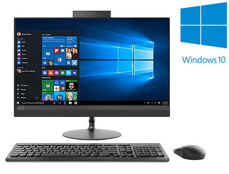 "21.5"" Lenovo 520-22ICB All-in-One, Intel Core i3-8100T 3.1GHz/4GB DDR4/1TB HDD+16GB Intel Optane/Intel UHD 630/DVD-RW/Bluetooth/WiFi 802.11ac/HDMI/Pop-up IR Camera/21.5"" FHD IPS Touchscreen Display (1920x1080)/Keyboard&Mouse/Windows 10 Home, 64-bit"