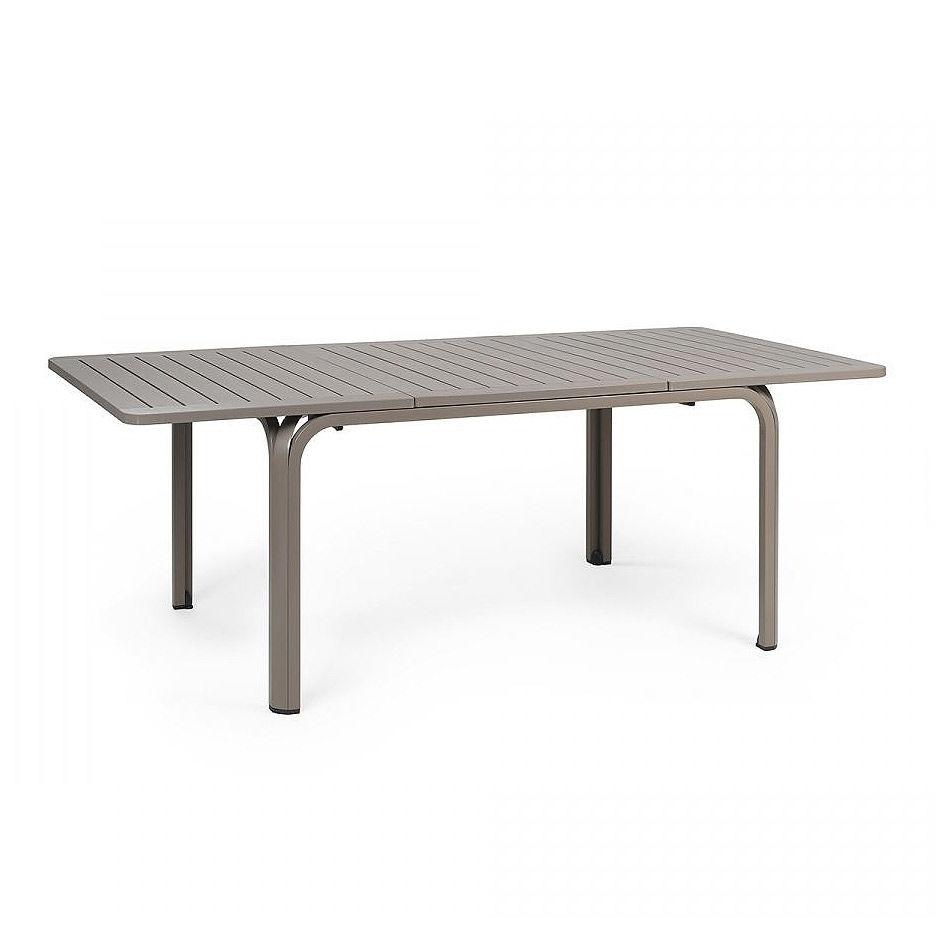 Стол раздвижной Nardi ALLORO 140 EXTENSIBLE TORTORA vern. Tortora 42759.10.000 (Стол раздвижной для сада и террасы)