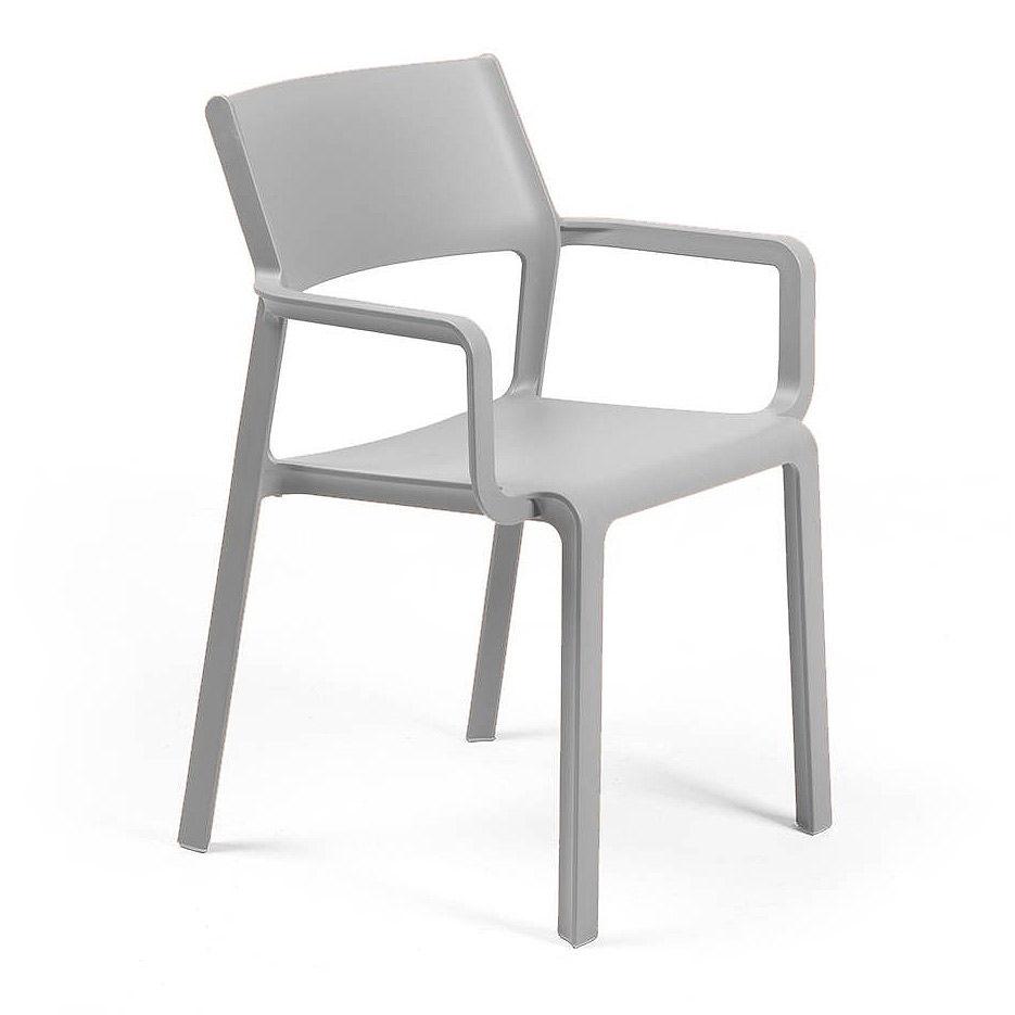 Кресло Nardi TRILL ARMCHAIR GRIGIO 40250.03.000 (Кресло для сада и террасы)