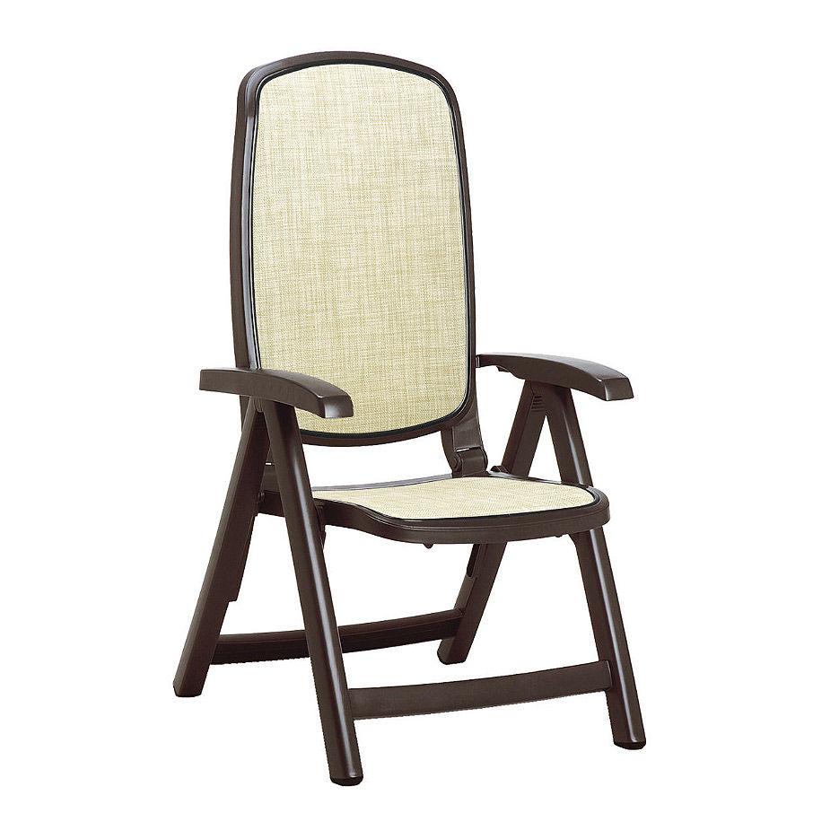Кресло складное Nardi DELTA CAFFE beige 40310.05.105 (Кресло складное для сада и террасы)