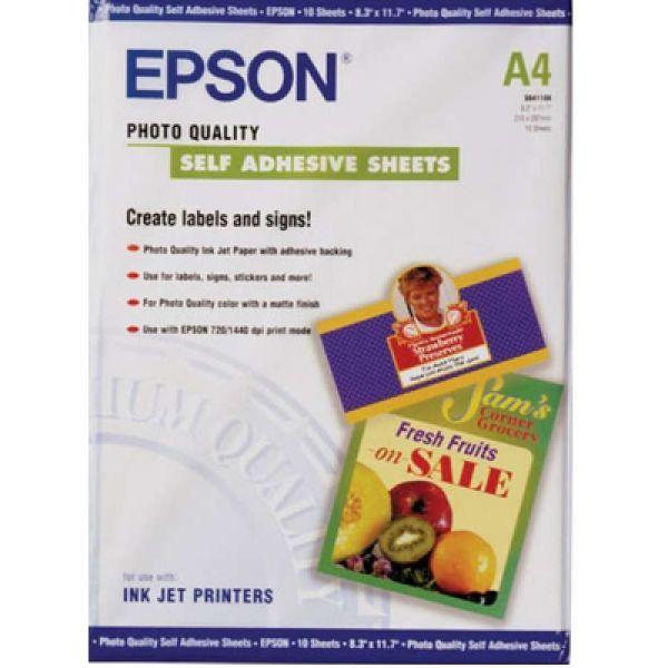 A4 140g 20p Epson Photo Quality Glossy Paper в наличии