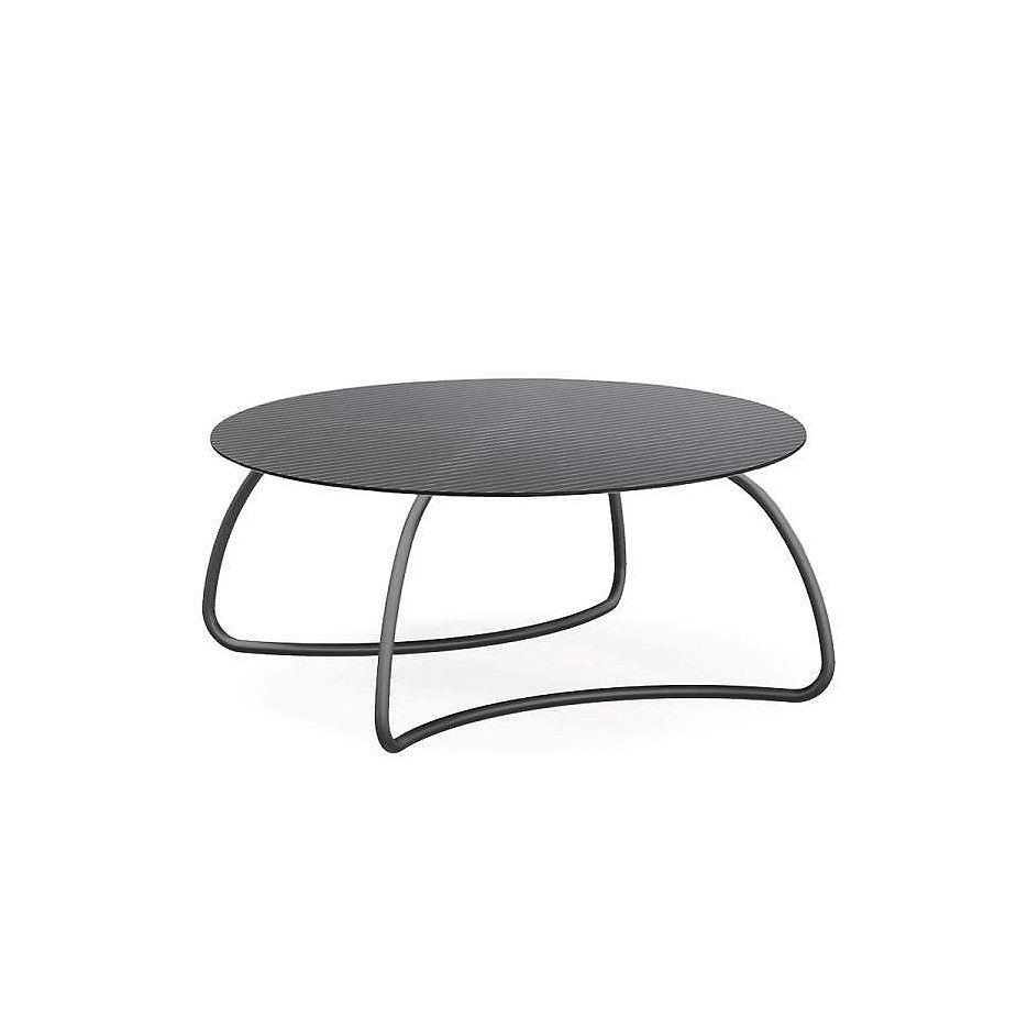 Стол стеклянный Nardi LOTO DINNER 170 ANTRACITE vern. antracite 44452.02.000 (Стол стеклянный для сада лежака террасы балкон)