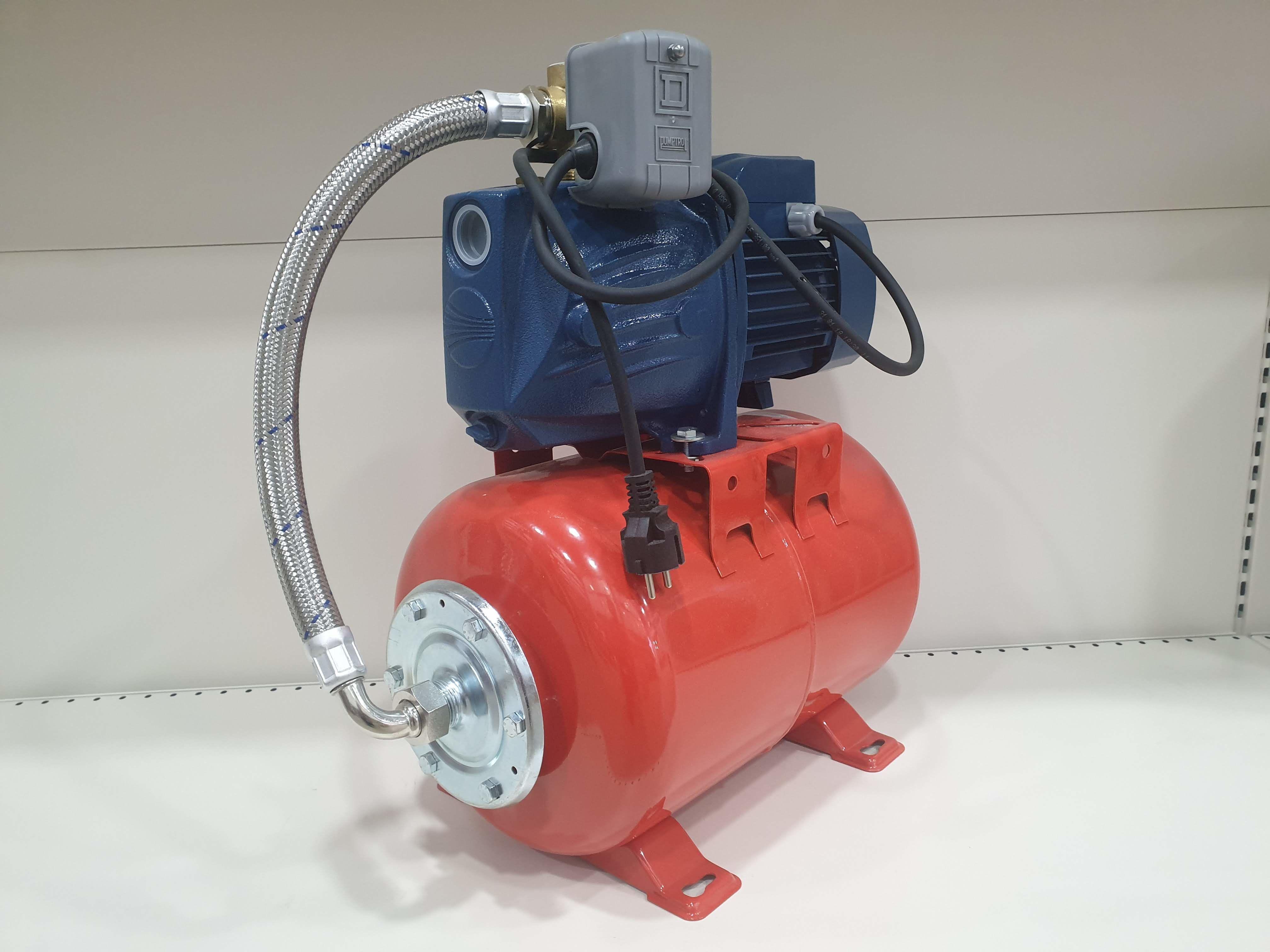 Гидрофор PEDROLLO JSWm2 AX-24CL 1.1кВт 9м (Защита)