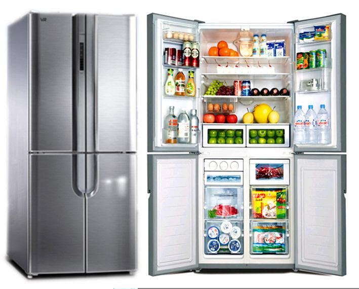 Двухкамерные холодильники