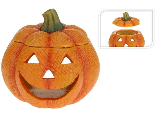 Подсвечник-тыква к празднику Хэллоуин