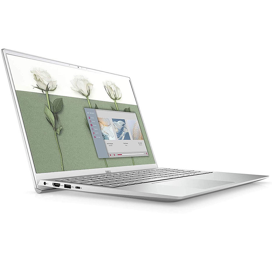 "15.6"" DELL Inspiron 15 5501 Silver, Intel Core i7-1065G7 1.3-3.9GHz/16GB DDR4/512GB PCIe NVMe SSD/GeForce MX330 2GB GDDR5/WiFi 802.11AX/Bluetooth/WebHD/FP/Backlit Keyboard/15.6"" FHD Antiglare Touchscreen WVA Display (1920x1020)/Windows 10"