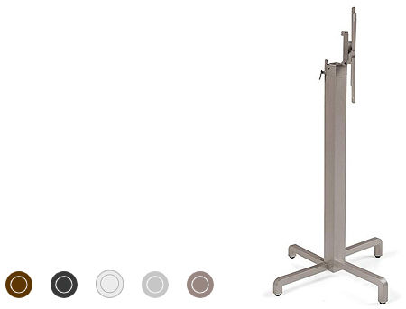 Picior masa din aluminiu NARDI BASE IBISCO HIGH (5 culori)