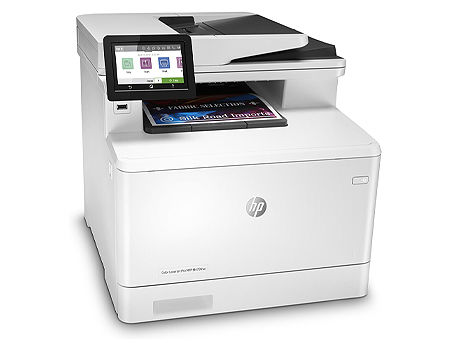 HP Color LaserJet Pro MFP M479fnw Color Printer/Color Copier/Color Scanner/Fax, A4, WiFi, Net Card, ADF, Duplex, 600 x 600 dpi, HP ImageREt 3600, 27 ppm, 512Mb, USB 2.0, Cartridges HP 415A (W2030A, W2031A, W2032A, W2033)