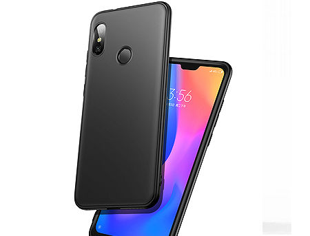 900012 Husa Screen Geeks Solid Xiaomi Mi A2 Lite, Black (чехол накладка в асортименте для смартфонов Xiaomi)