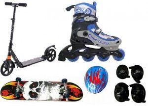 Biciclete, patine cu rotile si skateboard