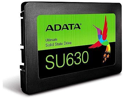 """480GB SSD 2.5"""" ADATA Ultimate SU630, 7mm, 3D NAND, Read 520MB/s, Write 450MB/s, SATA III 6.0 Gbps (solid state drive intern SSD/внутрений высокоскоростной накопитель SSD)"""