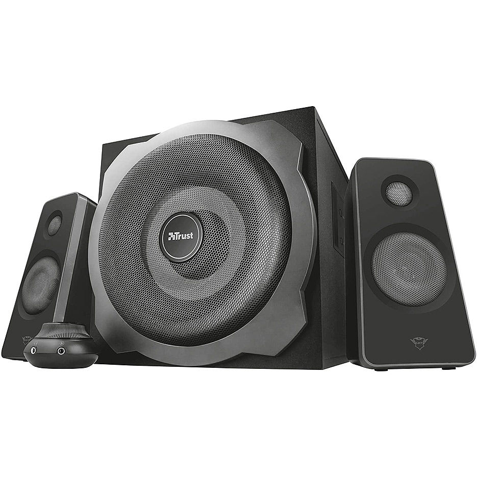 Колонки Active Speakers Trust Gaming GXT 38BT Tytan 2.1 Speaker Set with Bluetooth, 120w  - Black