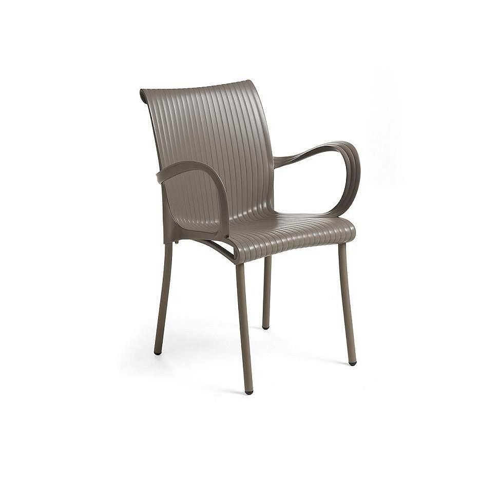 Кресло Nardi DAMA TORTORA vern. tortora 61659.10.000 (Кресло для сада и террасы)