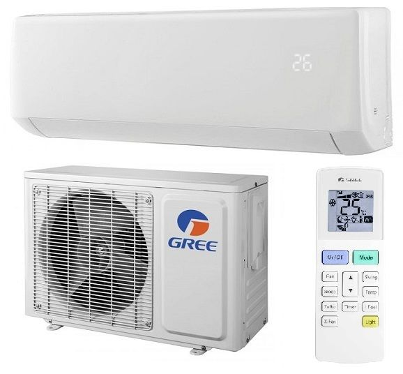 Aparat de aer conditionat tip split pe perete On/Off Gree Bora GWH24AAD 24000 BTU