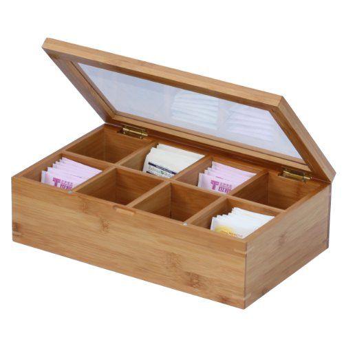 Шкатулки и коробки для чая