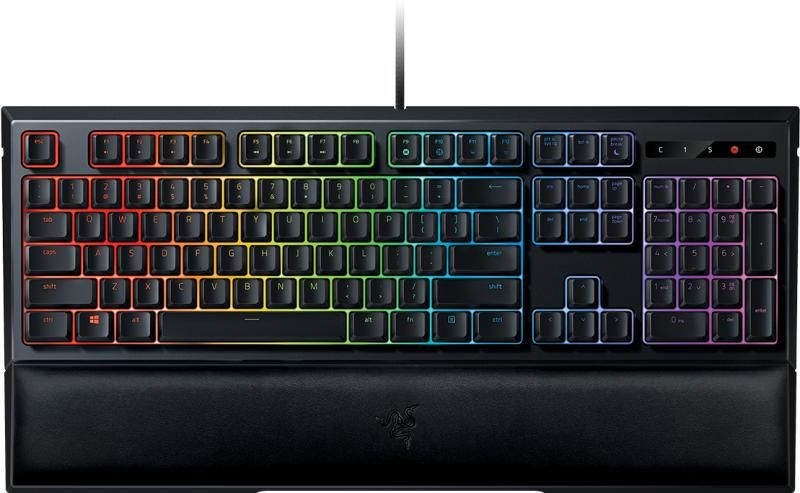 RAZER Ornata Chroma US / Mecha-Membrane Gaming Keyboard, Razer