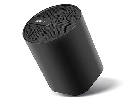 ACME SP109 Dynamic Bluetooth speaker Black, 3W, 90Hz–20kHz, 80 dB, Li-polymer 300 mA, Battery life: up to 6 hours, USB (boxe portabile sistem acustic/колонки портативные акустическая сиситема), www