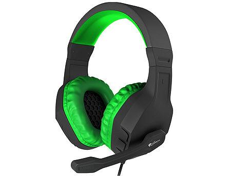 Genesis Argon 200 Green Gaming Headset, 20Hz - 20000Hz, 96 dB, Volume Control, 2.2m (casti cu microfon/наушники с микрофоном)