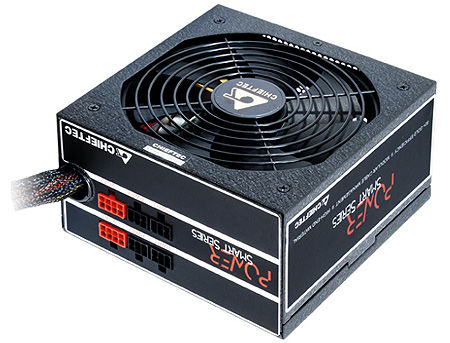 1250W ATX Power supply Chieftec Power Force GPS-1250C, 1250W, 140mm silent fan, 80 Plus Gold, EPS12V, Cable management, Active PFC (Power Factor Correction) (sursa de alimentare/блок питания)