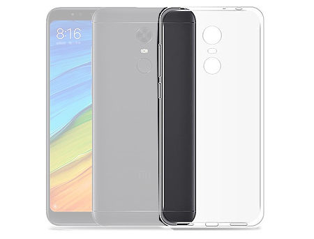 760014 Husa Screen Geeks Ultra thin Xiaomi Redmi 5 TPU Transparent (чехол накладка в асортименте для смартфонов Xiaomi, силикон, цвет прозрачный)