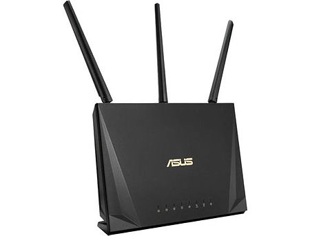 ASUS RT-AC85P, Wireless AC2400 Dual-Band Gaming Gigabit Router, 2.4GHz/5GHz for up to super-fast 2.33Gbps, 256MB, External antenna x 4, WAN:1xRJ45 LAN: 4xRJ45 10/100/1000, USB 3.1