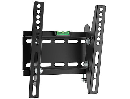 "Flat Panel Wall Support Brateck LP41-22T for TV screen size 23"" - 42"", Tilt from +5° to -10°, VESA 75x75, 100x100, 200x100, 200x200, 50Kg, Bubble Level, (suport de perete pentru TV/крепление подвес настенный кронштейн для телевизора) www"