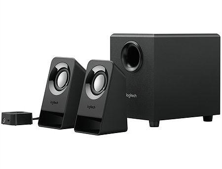 Logitech Z213 Black Compact 2.1 Speaker System, ( 2.1 surround, RMS 7W, 4W subwoofer, 2x1.5W satel. ), 980-000942 (boxe sistem acustic/колонки акустическая сиситема),