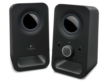 Logitech Z150 Multimedia Speakers 2.0 Midnight Black (RMS 3W, 2x1.5W satel.), 980-000814 (boxe sistem acustic/колонки акустическая сиситема)