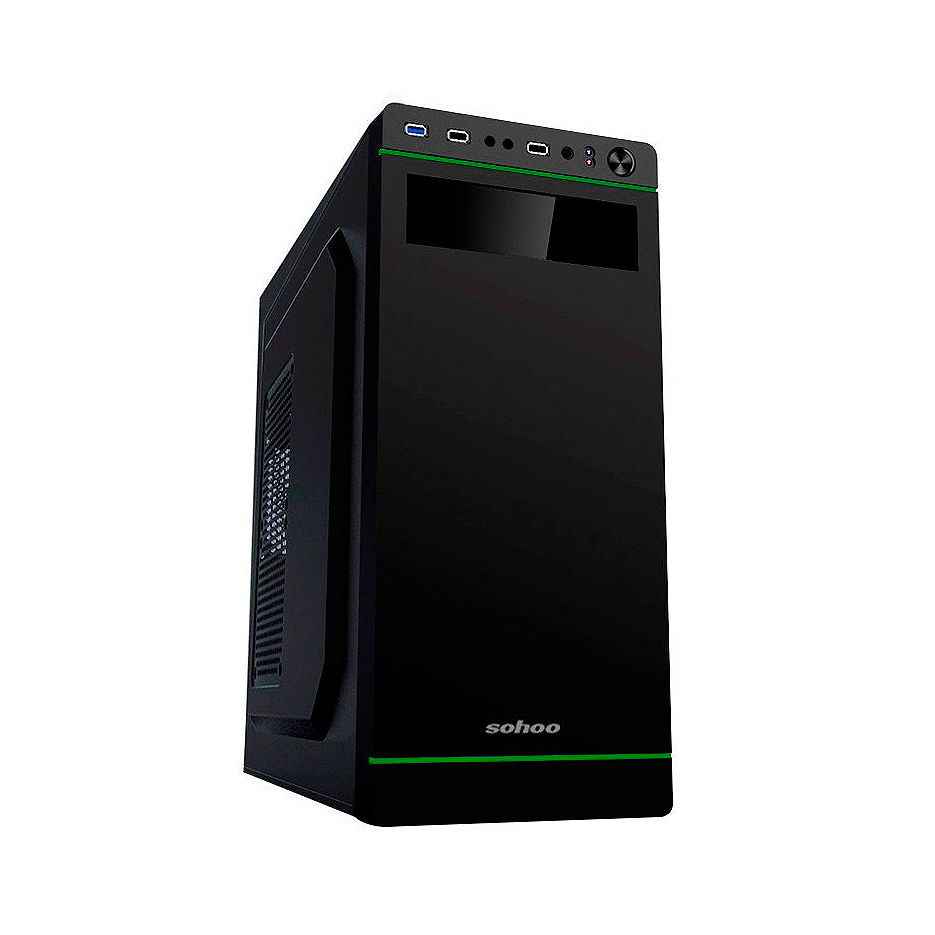Системный блок компьютер DOXY PC UNIVERSAL PLUS (N27699) - CPU Intel Core i3-7100 3.9GHz Dual Core, 3MB/ 8GB DDR4 /240GB SSD/ 320GB HDD/ video on board/ Case ATX 500W