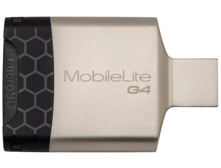 Kingston FCR-MLG4 MobileLite G4 Card Reader, USB 3.0